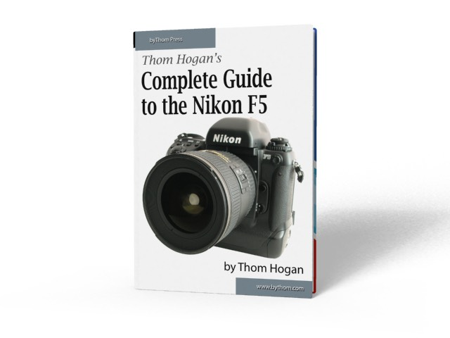 complete guide to the nikon f5 bythom filmbodies thom hogan rh filmbodies com Nikon D1 Nikon D5